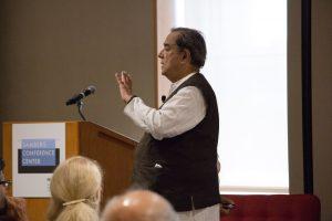 Keynote speaker Ashok Khosla